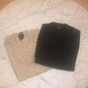 Jos.A Bank 2 men's sweaters